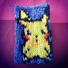 Pikachu rainbow loom