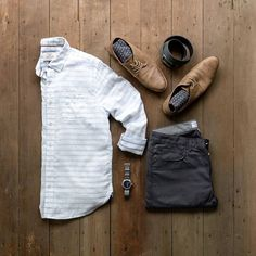 Classic casual and simple Sundays best. #mycreativelook Watch: @vaeradventure Shirt: Anderson Double Layer White - @flagandanthemco Chinos: The Johnny in Graphite Chino Twill @loyalcollective Shoes: @bullboxershoes Belt: @ansonbelt Socks: @calvinklein
