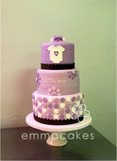 Baby Shower for Alicia's neice-to-be by emmacakes, via Flickr