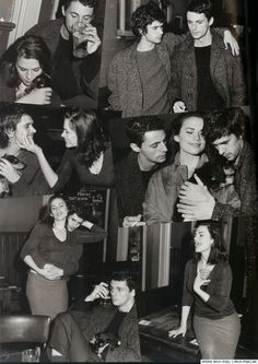 Matthew Goode, Hayley Atwell & Ben Wishaw by Bruce Webber, Vogue UK, October 2008 (?) Ben Wishaw being cute.