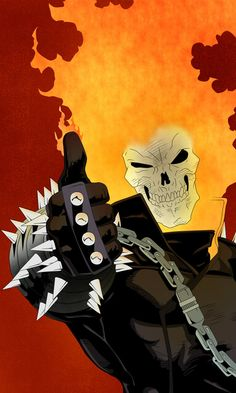 Ghost Rider Approve This Page  by Tarantinoss