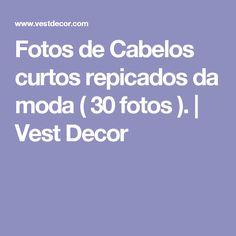 Fotos de Cabelos curtos repicados da moda ( 30 fotos ). | Vest Decor