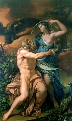 Gavin Hamilton, Juno and Jupiter, 18th century