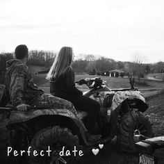 We don't always want to dress up and go to a movie. Lets get a four wheeler and have some fun