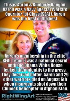 Obama betrayed Seal Team Six along with others. Don't let them get away with this. Please vote for America! ROMNEY/RYAN 2012
