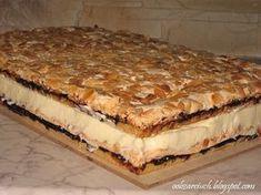 Polish Desserts, Polish Recipes, Pie Recipes, Sweet Recipes, Cooking Recipes, Hungarian Desserts, European Dishes, Sweet Bakery, Food Cakes