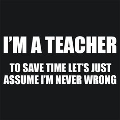 Funny Teacher T Shirt Description Textual Tees - TShirt & Apparel - Funny…