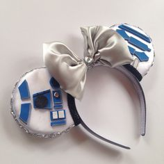 A personal favorite from my Etsy shop https://www.etsy.com/listing/267095822/magic-mouse-ears-r2d2