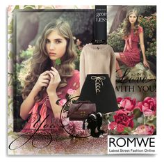 """""""Romwe"""" by vidutoria ❤ liked on Polyvore featuring Unravel, ESPRIT and WithChic"""