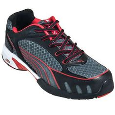 sports shoes f54af 27f38 Puma Safety Women s 642875 ESD Steel Toe Tennis Shoes