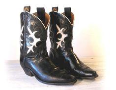 vintage pee wee cowboy boots