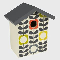 Orla Kiely Flower Stem Bird House Wild and Wolf  #mzube #gifts #cool #gift #sale #quirky #xmas #stocking #santa #shopping