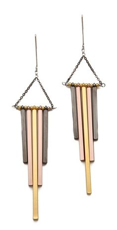 Gemma Redux Mixed Metal Earrings