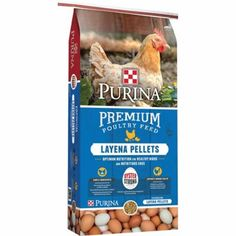 Purina Layena Pellets Premium Poultry Feed, 50 lb.