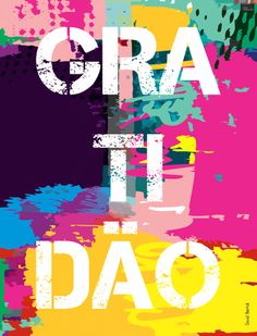 Gratidão, tipografia, palavra, lettering, poesia, dbertoli, david, bertoli