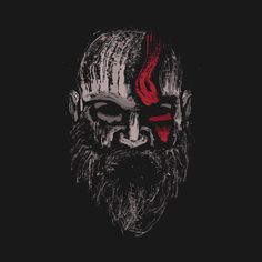 Shop God of war 💪 Kratos - The Warrior of Gods god of war t-shirts designed by MrSparks as well as other god of war merchandise at TeePublic. Kratos God Of War, War Tattoo, Joker Art, Gaming Wallpapers, Video Game Art, Geeks, Art Day, Tatoos, Videogames