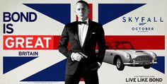 James Bond advertising campaign for VisitBritain. Smooth, very smooth.