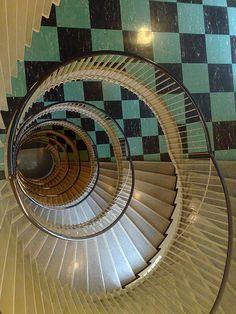 """Spiral Down"" - photo by hugovk, via Flickr; in Helsinki, Finland"