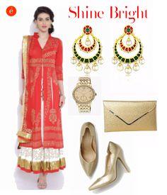 Celebrate Diwali in style. #festive #glamorous #bright #OTT