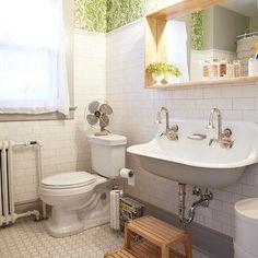 Kohler Brockway Sink, Vintage, bathroom, Russet and Empire Interiors