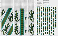 Bead Crochet Pattern. 25 around.