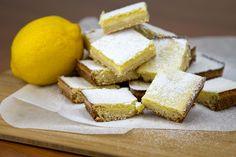 Plrischsant Lemon Bars / @DJ Foodie / DJFoodie.com