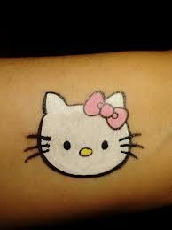 hello kitty face paint - Google Search