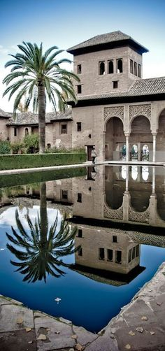 Alhambra, Granada, Spain, the architecture there was stunning!