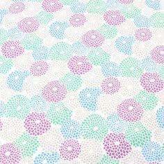 SOU・SOUテキスタイル計り売り (帆布)菊づくし りょうふう Graphic Design Pattern, Design Art, Textile Patterns, Print Patterns, Japanese Textiles, Pattern Illustration, Repeating Patterns, Vector Pattern, Flower Wall