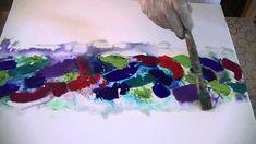 Abstract Abstrakt Sommerfarben Summercolours long version