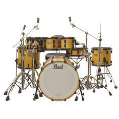 Pearl Masterworks Special Edition Shellset inkl. HW « Drum Set