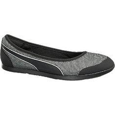 Puma Ballerina MODERN SOLEIL schwarz für Damen - Farbe schwarz Laufsohle EVA Obermaterial PU Mesh Innenmaterial Textil Mesh