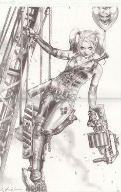 Harley Quinn by Jay Anacleto