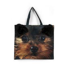 Τσάντα Yorky Yorky, Dog Lovers, Reusable Tote Bags, Puppies, Cubs, Pup, Newborn Puppies, Puppys, Doggies