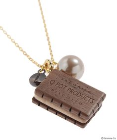 Choco Biscuit Coffee Necklace