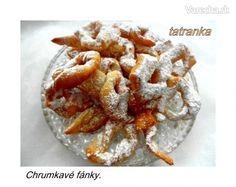 Chrumkavé fánky (fotorecept) - Recept Czech Recipes, Ethnic Recipes, Czech Desserts, Wonderful Recipe, Favorite Recipes, Sweets, Ale, Sweet Pastries, Gummi Candy