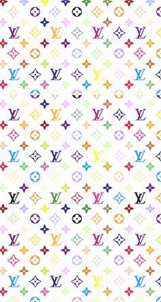 Louis Vuitton iPhone iOS7 Retina Wallpaper Color