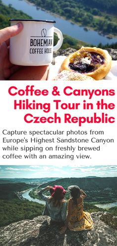 Hiking Tour in Bohemian Switzerland National Park in the Czech Republic - Take a day trip from Prague and see breathtaking views of the Elbe River Canyon while sipping on freshly brewed local coffee. All within a few hours from Prague! #bohemianswitzerland #prague #czechrepublic #europe #hiking #travel #coffee