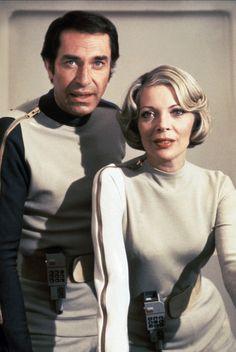 "Cosmos: 1999 - Martin Landau - Barbara Bain. I wanted to be ""Helen"" when i was a kid."