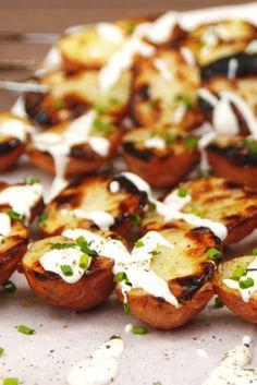 Grilled Ranch Potatoes  - Delish.com