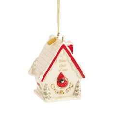 2016 Bless Our Home Birdhouse Ornament
