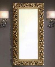 Miroirs Vestiaire : Modèle HERACLITO Or