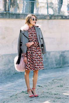Ella Catliff Paris Fashion Week SS 2016 #streetstyle #2016