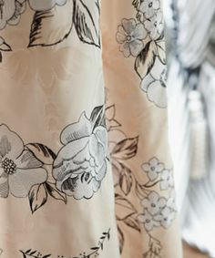 Warm sandy shades with monotone details on Designers Guild Adelphi fabric