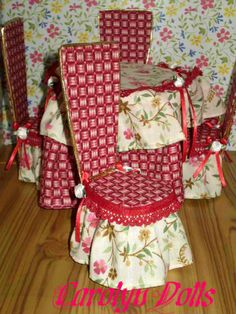 Painting And Doll Making: How To Make A Doll Table And Chairs Video Tutorial