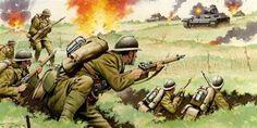 Commando: War Comic For Action and Adventure Ww2 History, History Photos, Military History, War Comics, Military Diorama, World War One, Military Army, Modern Warfare, British Army