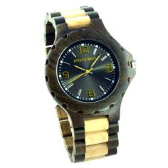 Charitable Wooden Watches : wooden watch