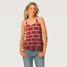 The look of Brick Tank Top - plain gifts style diy cyo