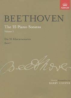 Grades 7 & 8 - Beethoven: The 35 Piano Sonatas Volume I. £19.50