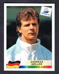 Výsledok vyhľadávania obrázkov pre dopyt Andreas Möller Fifa World Cup France, Germany Football, Ms, Stickers, Image, Decals